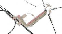 Axonométrie souterraine du projet
