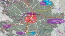 Plan du réseau de transport reconfiguré