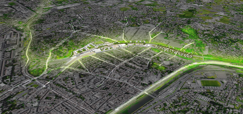 Recoudre la ville - Als, Europan 10
