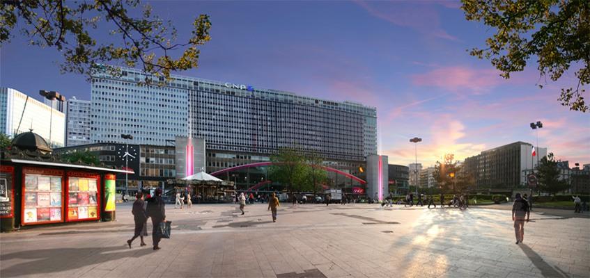 Un nouveau design de Paris-Montparnasse