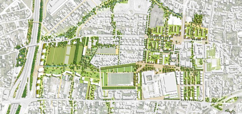 Un nouveau quartier de ville à Toulouse-Izards